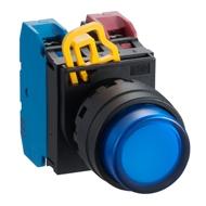 LED tlačítko YW1L-M2E10Q4S