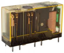 4pólové relé s nuceně vedenými kontakty RF1V RF1V-2A2BL-D24